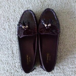 Coach loafers | flats